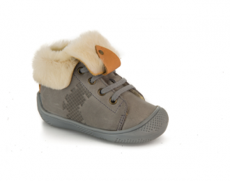 Chaussure Babybotte avec fourrure