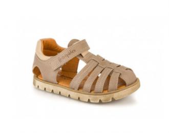Sandale Babybotte taupe