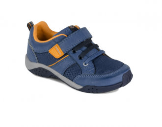 Sneaker Pediped marine/orange