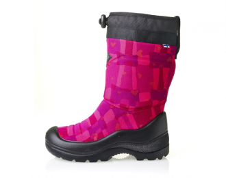 Botte Kuoma rose imperméable / -30 °C