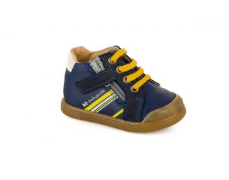 Chaussure Babybotte marine/jaune