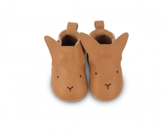 Chausson en cuir Boumy lapin