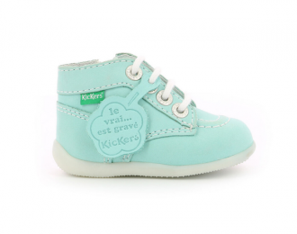 Bottillon Kickers bleu clair / éco-responsable