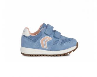 Sneaker Geox bleu pâle