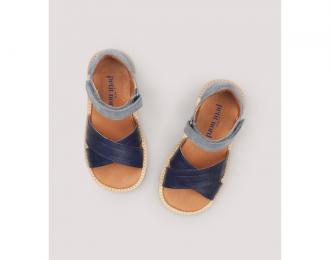 Sandales Petit Nord marine/bleue