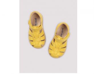 Sandales Petit Nord – jaune