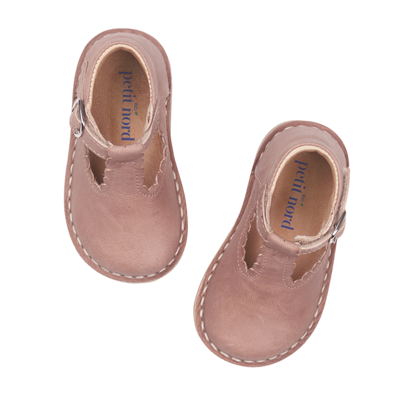Chaussure pour fille Petit Nord rose