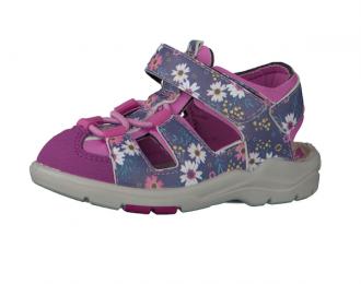 Sandale Ricosta fleurie – Lavable