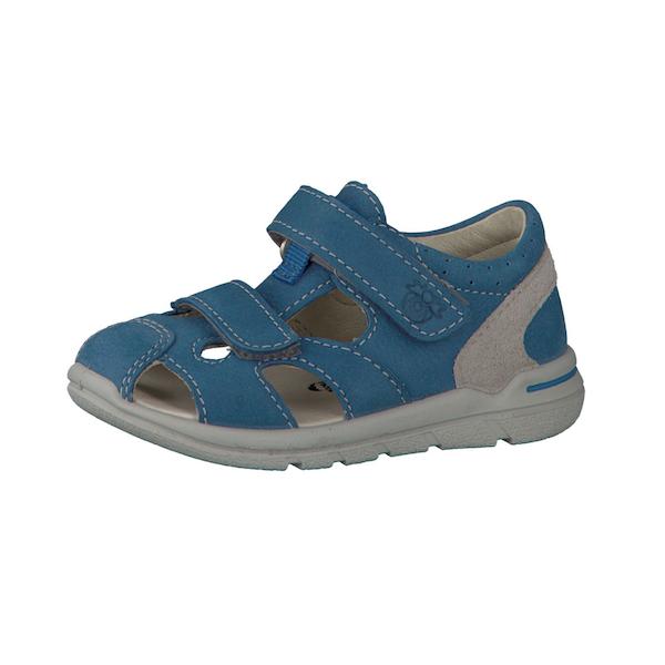 Sandale garçon bleue