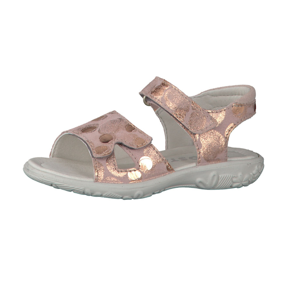 Sandale pour fille Ricosta rose/gold