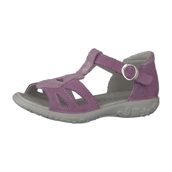 sandale fille violet