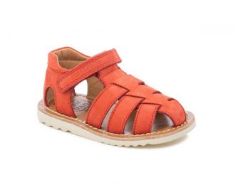 Sandale Pom d'Api rouge