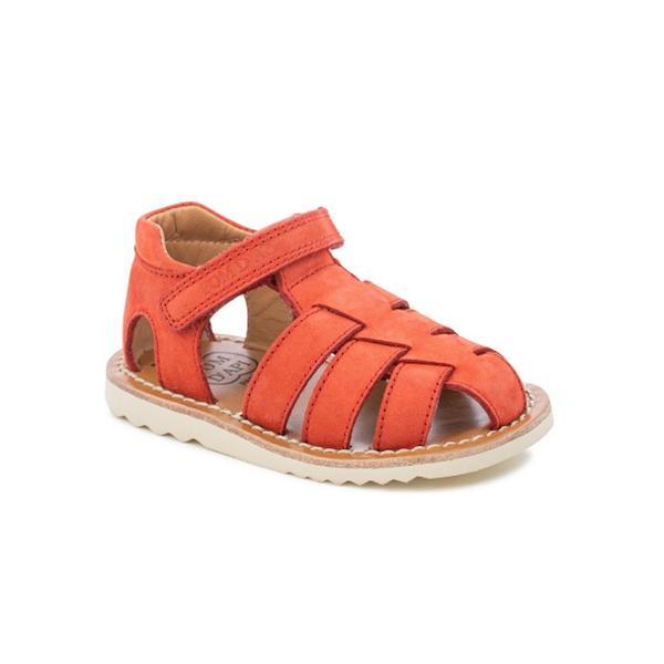 Sandale enfant Pom d'Api rouge