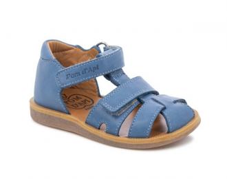 Sandale Pom d'Api bleue