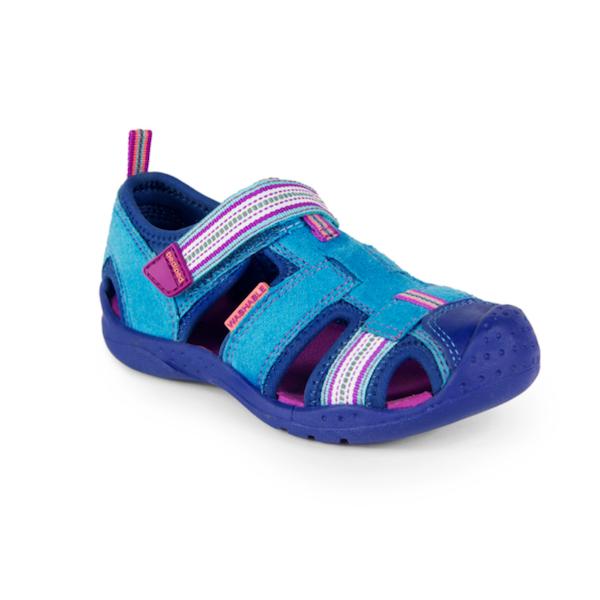 Sandale pour filles lavables à la machine, légères et flexibles