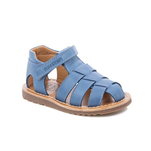 Sandale Pom d'Api bleues