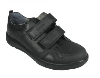 Chaussure à velcro noire Ricosta