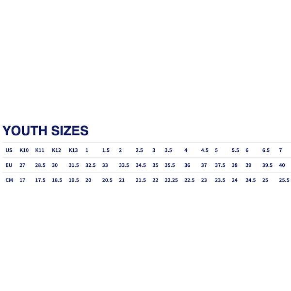 ASICS guide des tailles