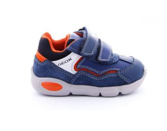 Chaussures Geox bébé marine/orange