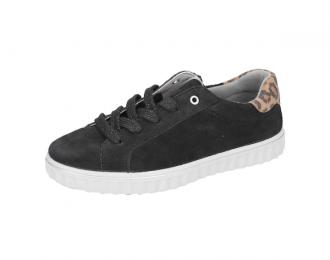 Sneaker Ricosta noir léopard