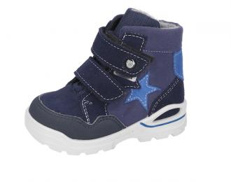Botte hiver Ricosta bleue étoile – bébé