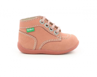 Chaussure Kickers rose clair