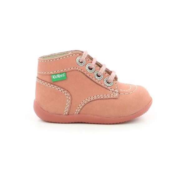 Chaussures pour enfants rose Kickers