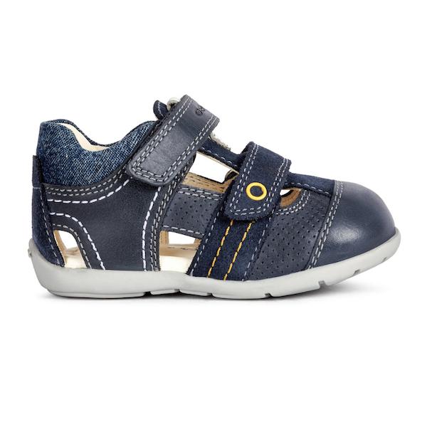 Sandales Geox marine pour bébés