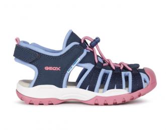 Sandales Geox marine et bleue