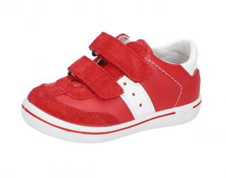 Chaussure Ricosta rouge blanc