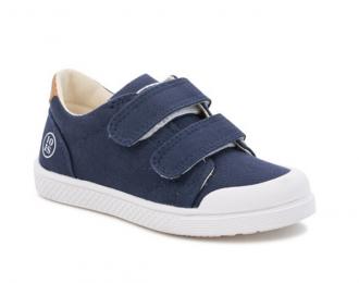 Sneaker Ten Is toile marine
