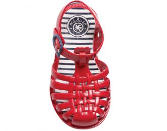 Sandale d'eau Méduse rouge