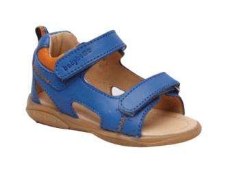 Sandale babyotte bleue