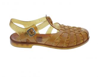 Sandale d'eau Méduse camel