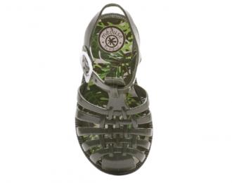 Sandale d'eau Méduse kaki