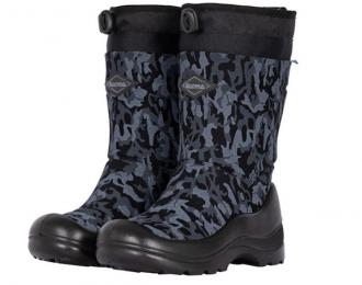 Botte d'hiver Kuoma camouflage noir imperméable / -30 °C