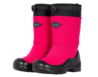 Botte d'hiver Kuoma rose imperméable / -30 °C