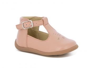 Chaussures Pom d'Api écolo rose